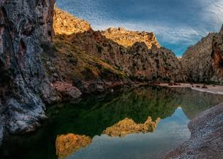 Sa Calobra, Schlucht de Parreis, Torrent de  Parreis, Mallorca