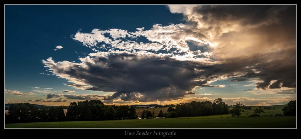 Landschaft, Wolken