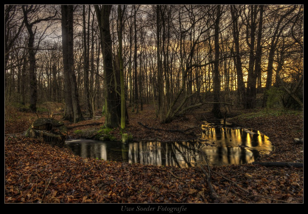 Binnewitzer Wasser im Naturpark Bautzen